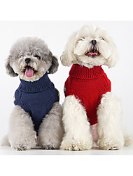 cheap -autumn and winter new college style sleeveless pet sweater british style handsome teddy bichon schnauzer cat and dog clothes