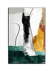cheap -Oil Painting Handmade Hand Painted Wall Art Colorful Abstract Room Decorations Home Decoration Decor Stretched Frame Ready to Hang