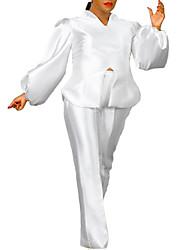 cheap -Women's Plus Size Tops Blouse Set Plain Long Sleeve V Neck Basic Fall Yellow Red White Big Size L XL XXL 3XL