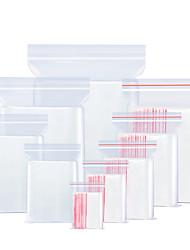 cheap -Clear Zip Lock Bag Plastic Packaging Pouches Sealing Zipper Plastic Bags Jewelry Food ziplock Storage Bag