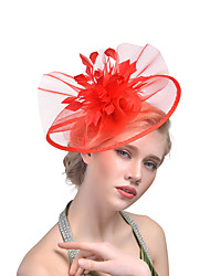 cheap -Fashion Alloy Fascinators with Flower 1 PC Special Occasion / Party / Evening Headpiece