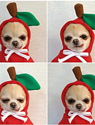 cheap -Elk Turns Into Dogs Cats Small And Medium-sized Dogs Fall And Winter Hoodies Fleece Clothes Casual Simple Style Daily Dog Clothes Puppy Clothes Dog Outfits Waterproof Costume for Girl and Boy Dog Fleece XXL