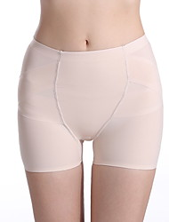 cheap -Corset Women's Control Panties Sexy Hip Pants Sport Basic Yoga Solid Color Not Specified Nylon Gym Yoga All Seasons White Black