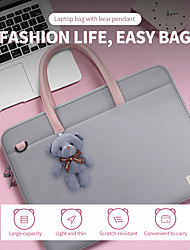 cheap -14 Inch Laptop / 15 Inch Laptop Briefcase Handbags Nylon Fiber Solid Color for Men for Women for Business Office Waterpoof Shock Proof
