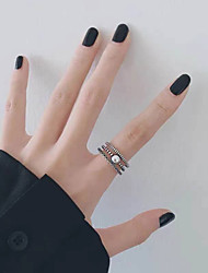 cheap -Ring Silver Copper Simple Fashion Vintage 1pc / Women's / Open Ring
