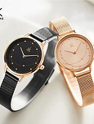 cheap -Shengke New Women Watch Geometric Wirstwatch Milan Meshband Ladies Watch Original Brand Watch Montre Femme Reloj Mujer