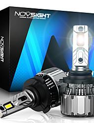 cheap -NOVSIGHT 70W 15000LM 12V LED Car Lamp H7 Fog Light H11 H8 H9 H4 9005 HB3 9006 HB4 H3 H13 9012 9007 LED Headlights Bulb 6500K White 2pcs