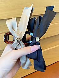 cheap -3 Pcs/set Black Bow Back Hair Clip Hair Claw Clip Women'S Summer Large Hair Clip Hair Clip To Secure Headpiece