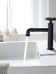 cheap -Cold Water Only Bathroom Sink Faucet Copper Body Single Handle One Hole Lavatory  Basin Faucet for Bathroom