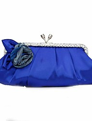 cheap -Women's Bags Clutch Evening Bag Evening Party Formal Date Sapphire Scarlet White