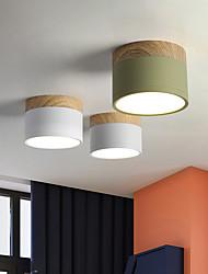 cheap -9 cm Single Design Flush Mount Ceiling Lights Aluminum LED Nordic Style 220-240V