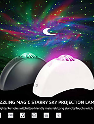 cheap -Projector Light Remote Controlled Star Light Projector Star Moon Projector Party Wedding Gift Multi-colors