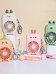 cheap -Luxury Mini- Hold Pocket Fans Backpack Keychain Usb Charge Outdoors Fans Keyring Small Fan Key Chains For Wome Kids Great Gift
