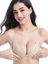 cheap -Women's Normal Gender Neutral Other Bra Adhesive Bra - Solid Colored