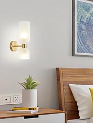 cheap -Modern Flush Mount Wall Lights Living LED Room Bedroom Copper Wall Light 220-240V