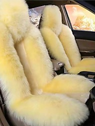 cheap -Black / Brown / Wine Wool Warm and Breathable Car Seat Covers Seat Covers Common For Universal Made of Australian Wool(Single Seat)