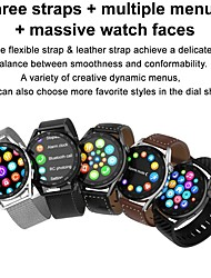 cheap -DT NO.1 DT3 Pro 1.36 inch 390*390 Pixels IPS Full Round Touch Screen BT Calling Heart Rate Monitor 100 Watch Faces IP68 Waterproof BT 5.0 Smart Watch