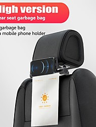 cheap -Car Headrest Mount Tablet Holder Containing Garbage Bags Backseat Mount 360 Rotating Adjustable Stand Cradle Compatible with iPad Pro Air Mini Galaxy Tabs Switch Other 4.7-12.9 Cell Phones and Tablets