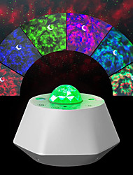 cheap -Star Galaxy Projector Light Projector Light Remote Controlled Laser Light Projector Bedroom Decor Smart App Control Party Halloween Gift RGB+White
