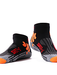 cheap -Compression Socks Running Socks 5 Pairs Men's Tube Socks Breathable Sweat wicking Comfortable Non-slipping Gym Workout Basketball Running Jogging Sports Color Block Fashion Cotton Blue White Black