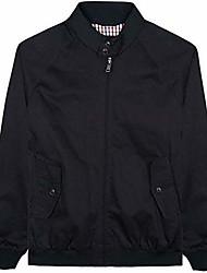cheap -while classic harrington bomber jacket mod ska 59148 - black