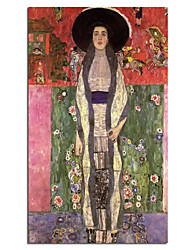 cheap -Oil Painting Handmade Hand Painted Wall Art Famous Classic Adele Bloch-Bauer II By Gustav Klimt Home Decoration Decor Rolled Canvas No Frame Unstretched