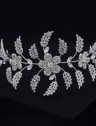 cheap -Retro Sweet Imitation Pearl / Rhinestone / Alloy Crown Tiaras / Headbands / Headpiece with Faux Pearl / Crystal / Rhinestone / Split Joint 1 PC Wedding / Party / Evening Headpiece