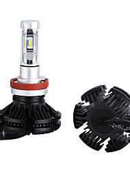 cheap -OTOLAMPARA LED Headlamps Light 9006 50W 6000LM CSP Light Source H11 Headlight White Yellow Blue Tri-colors Headlight H4 H7 2pcs