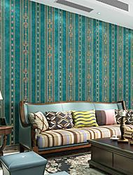 cheap -Wallpaper Wall Covering Sticker Film Damask Retro Luxurious Non Woven Home Decor 53*950cm