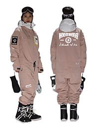 cheap -GSOU SNOW Men's Ski Suit Thermal Warm Reflective Waterproof Windproof Winter Winter Jacket for Snowboarding Ski Mountain / Women's / Breathable
