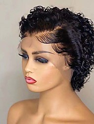 cheap -13*1 Front Lace European And American Wig Women Wig Multicolor Long Curly Hair Chemical Fiber Headgear