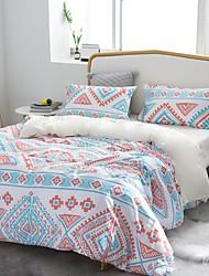 cheap -3 Pcs Boho Duvet Cover, Colorful Ethnic Pattern Printed Bohemian Comforter Cover Bedding Set