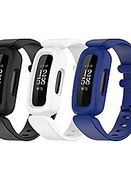 cheap -watch bands compatible with fitbit ace 3 tracker for kids,soft silicone wristbands accessory straps replacement for fitbit ace 3,(no tracker)