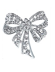 cheap -Men's Women's Brooches Classic Butterfly Fashion Brooch Jewelry Silver For Gift Daily