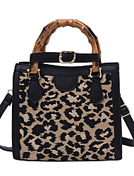 cheap -Women's Bags PU Leather Top Handle Bag Going out Office & Career Handbags Black Brown