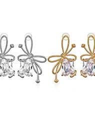 cheap -Women's Stud Earrings Drop Earrings Hoop Earrings Classic Flower Joy Fashion Classic Modern Korean Sweet Earrings Jewelry Silver / Gold For Party Street Gift Daily Holiday 1pc / Mismatch Earrings