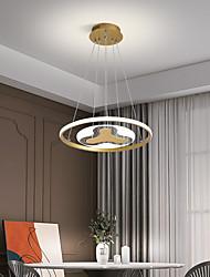 cheap -Pendant Light LED Luxury Simple Acrylic Round Bar Restaurant Living Room