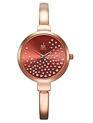 cheap -Shengke Women Watches Women Fashion Watch Geneva Designer Ladies Watch Luxury Brand Diamond Quartz Wrist Watch Gifts For Women