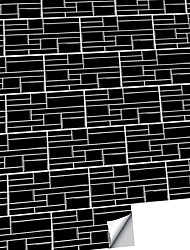 cheap -American Tile Stickers High-end Pure Black Mosaic Self-adhesive Kitchen Wall Stickers Imitation 3d Tile Stickers