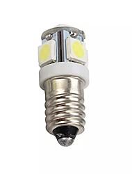 cheap -10pcs 4pcs 1pc 0.8 W LED Globe Bulbs 60 lm E10 5 LED Beads SMD 5050