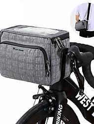 cheap -WEST BIKING® Cell Phone Bag Bike Frame Bag Top Tube 16*10 inch Cycling for Dark Gray Cycling / Bike