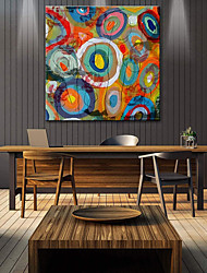 cheap -Oil Painting Handmade Hand Painted Wall Art Mintura Modern Abstract Picture For Home Decoration Decor Rolled Canvas No Frame Unstretched