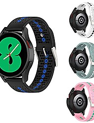 cheap -galaxy watch 4 band,  compatible with galaxy watch 4 classic bands replacement, breathable soft silicone 20mm band for samsung galaxy watch 4 40/44 mm, galaxy watch 4 classic 42/46 mm