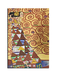 cheap -Oil Painting Handmade Hand Painted Wall Art Gustav Klimt Tree Of Life Classical Famous Home Decoration Decor Rolled Canvas No Frame Unstretched