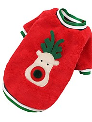 cheap -Dog Cat Dog clothes Classic Style Minimalist Winter Dog Clothes Puppy Clothes Dog Outfits Warm 1 2 Costume for Girl and Boy Dog Flannel Fabric S M L XL XXL