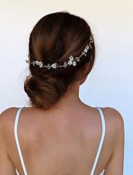 cheap -Wedding Bridal Alloy Headbands / Headdress / Headpiece with Crystals / Crystals / Rhinestones 1 PC Wedding / Special Occasion Headpiece