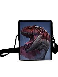 cheap -Unisex Bags Oxford Cloth Mobile Phone Bag 3D Crossbody Bag Zipper 3D Daily Holiday Canvas Bag 3D Print Black