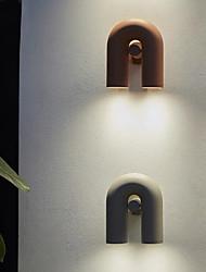 cheap -LED Wall Lights Mini Style Modern For Living Room / Bedroom Iron 220-240V Grey
