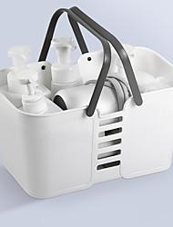 cheap -Bath Basket Portable Bath Bathroom Storage Plastic