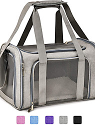 cheap -Pet Carrier Airline Approved Pet Carrier Dog Carriers for Small Dogs, Cat Carriers for Medium Cats Small Cats, Small Pet Carrier Small Dog Carrier Airline Approved Dog Cat Pet Travel Carrier